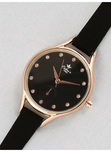 Colin's Kahverengi Kadın Saat Siyah
